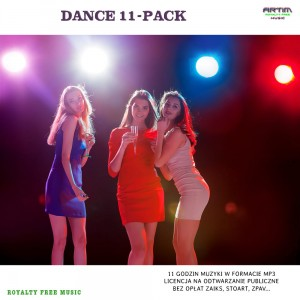 Dance 11 godz. MP3 pendrive USB